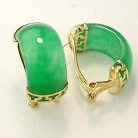 jade earring