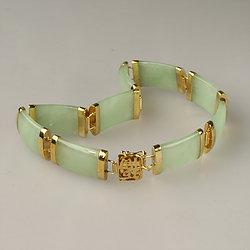 Jade Bracelet Green