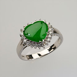 8e1450c45587b Jade Ring: Imperial Jade Ring - Jade Shop