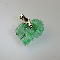 Small Chinese Zodiac Jade Pendant
